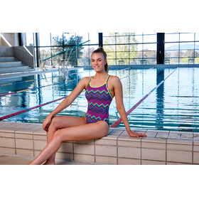 Funkita Diamond Back One Piece - Bañador Mujer - Multicolor